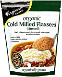 Virginia Harvest Cold Milled Organic Flaxseed 175 g (Pack of 4)