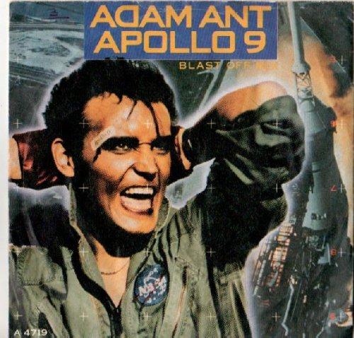 ADAM ANT - Apollo 9 (Splashdown Re-Mix) (UK 12