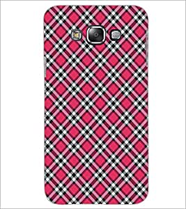PrintDhaba Pattern D-5277 Back Case Cover for SAMSUNG GALAXY A7 (Multi-Coloured)