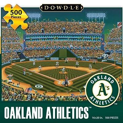 Jigsaw Puzzle - Oakland Athletics 500 Pc By Dowdle Folk Art