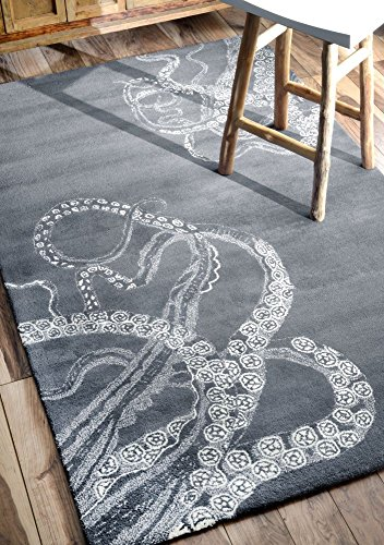 61ZF-t20C7L 20 Of Our Favorite Octopus Area Rugs