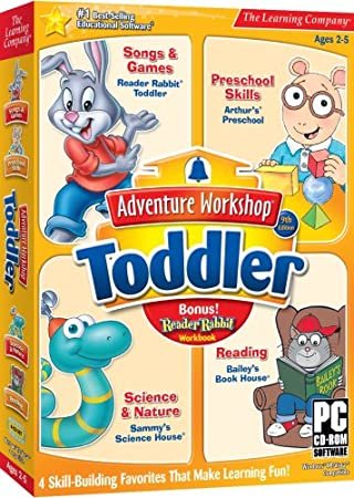 Adventure Workshop Toddler 9th Edition