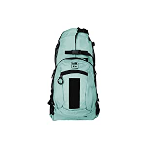 K9 Sport Sack | Dog Carrier Backpack for Small and Medium Pets | Front Facing Adjustable Pack with Storage Bag | Fully Ventilated | Veterinarian Approved (Small, Air Plus - Summer Mint) (Color: Air Plus - Summer Mint, Tamaño: Small)