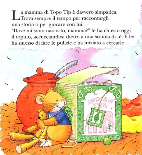 Libro topo tip mamma non andare a lavorare di anna casalis for Topo tip immagini