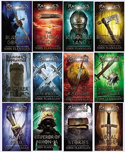 The Ranger's Apprentice Series (Complete 12 Book Set)