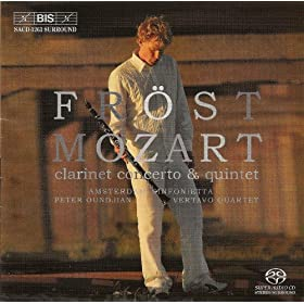 Mozart: Clarinet Concerto / Clarinet Quintet in A Major