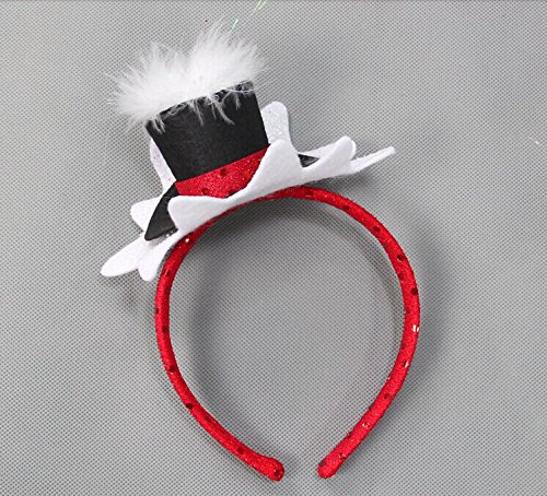 decoracion-de-navidad-de-la-termita-ciervos-sika-elk-punto-tocado-hairbands-actuaciones-ambientadas-
