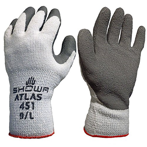 12 Pack Showa Atlas 451 Atlas ThermaFit Gloves - X Large (Atlas Thermal Gloves Xl compare prices)