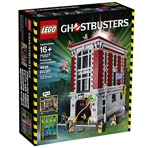 LEGO-Ghostbusters-75827-Firehouse-Headquarters-Building-Kit-4634-Piece
