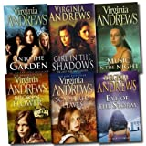Virginia Andrews Virginia Andrews Collection 6 Books Set Pack RRP: £ 41.94 (Scattered Leaves, Broken Flower, Girl in the Shadows, Into the Garden, Eye of the Strom, Music in the Night) (Virginia Andrews Collection)