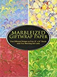 Marbleized Giftwrap Paper (Dover Giftwrap)