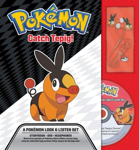 Catch Tepig! A Pokémon Look & Listen Set (Pokemon Pikachu Press)