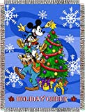 The Northwest Company Northwest Mickey Mouse Spread Cheer Throws