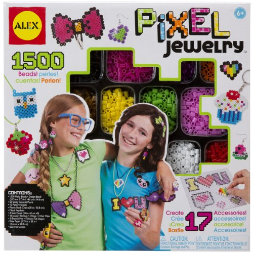 ALEX Toys Do-it-Yourself Wear Pixel Jewely Kit