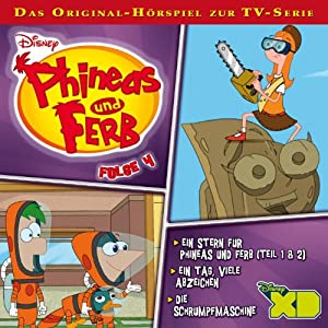 Phineas und Ferb 4 Hörspiel