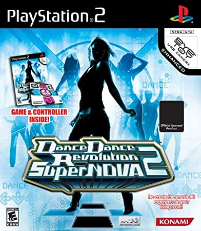 Dance Dance Revolution SuperNova 2 Bundle (includes Dance Mat)