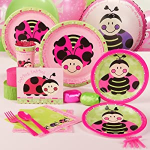 LadyBugs: Oh So Sweet 2nd Birthday Standard Party Pack for 16