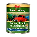 Majic Paints 8-0968-2 Town & Country Tractor, Truck & Implement Oil Base Enamel Paint, 1-Quart, Ford Blue (Color: Ford Safety Blue, Tamaño: Quart)
