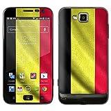 """atFoliX Designfolie """"Belgien Flagge"""" f�r Samsung Ativ S (GT-I8750) - ohne Displayschutzfolievon """"Designfolien@FoliX"""""""
