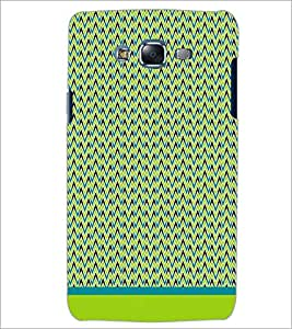 PrintDhaba Zig Zag Pattern D-1692 Back Case Cover for SAMSUNG GALAXY ON 5 (Multi-Coloured)