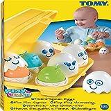 (TOMY) Play to Learn Hide 'n' Squeak Eggs (Age 12m+)