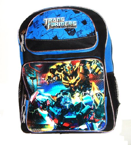 Transformers 'cargo' backpacks