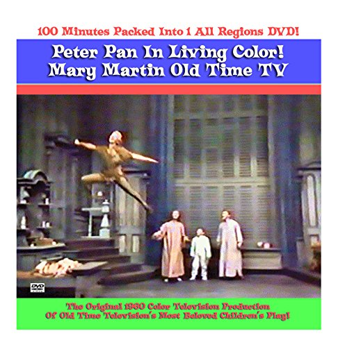 Peter Pan Mary Martin DVD Color TV 1960 Original TV Production (Peter Pan With Mary Martin Dvd compare prices)
