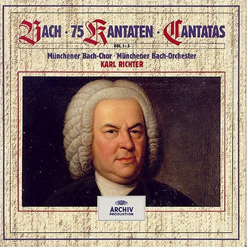 Bach: Cantatas Volumes 1-5 (75 Cantatas for Sundays and Feast Days of the Church Year)