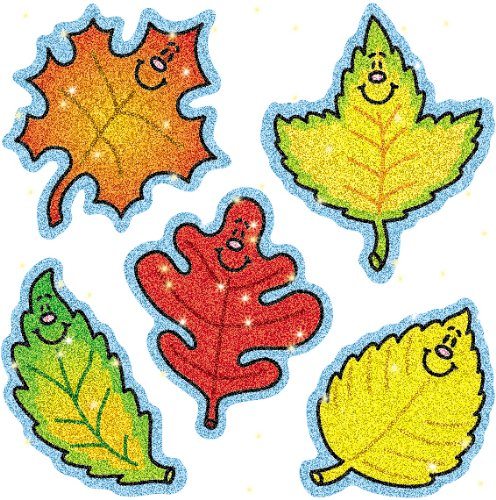 Carson Dellosa Fall Leaves Dazzle Stickers (2906)
