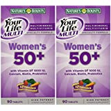 Nature's Bounty Your Life Women's Multi 50 Plus, 90 Tablets(Pack of 2)