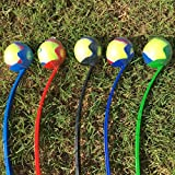 "New Dog Ball Launcher / Thrower. Great Dog Toy! Comes with 1 Tennis Ball. Thrower Is Light Weight & Durable (Colors Vary). Easy to Throw Long Distance. Handle 25"" (64cm) Excellent Exercise Great Gift!"