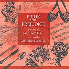 Pride and Prejudice Audiobook by Jane Austen Narrated by Catherine O'Brien