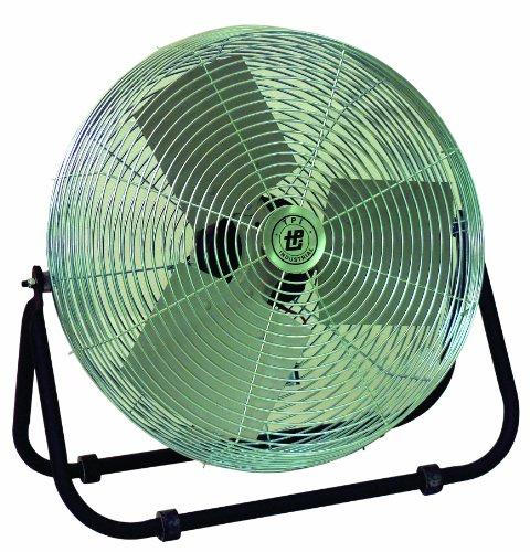 "Tpi Corporation F18-Te Industrial Workstation Floor Fan, Single Phase, 18"" Diameter, 120 Volt (Floor Model)"