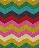 Waverly PANDES3 Panama Wave 100 Percent Cotton Fabric, 54 in. x 3 Yards