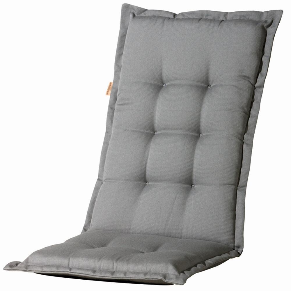 6 Stück MADISON Dessin Panama Sitzpolster, Sitzauflage für Stapelsessel niedrig, Niedriglehner 75% Baumwolle, 25% Polyester, 100 x 50 x 4 cm, in grau jetzt kaufen