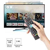 Air Remote Mouse,STRQUA MX3 Multifunction 2.4G Fly Mouse Mini Wireless Keyboard & Infrared Remote Control & 3-Gyro + 3-Gsensor for Google Android TV/Box, IPTV, HTPC, Windows, MAC OS, PS3,Chrome Box (Color: MX3, Tamaño: MX3)