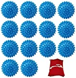 Cobalt®: 14x Tumble Dryer Washing Machine Balls - Makes clothes softer and more
