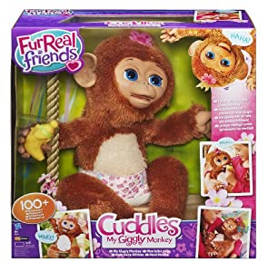 FurReal Friends A1650E24 - Cuddles, Mein Baby Äffchen