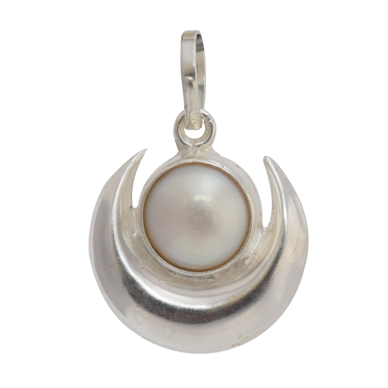 Buy Astrology Paradise Silver Pearl Pendant Online At Low Prices In India   Amazon Jewellery Store  Amazon