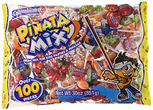 Colombina Pinata Mix Assorted Party Candy (100+ Pieces) 30oz