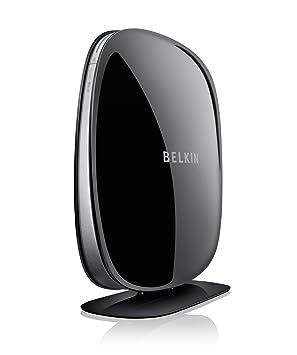 Belkin Play N750 DB - Router (10, 100, 1000 Mbit/s, 10/100/1000Base-T(X), 802.11b, 802.11g, 802.11n, 11, 54, 300, 450 Mbit/s, Ethernet (RJ-45), DSL) Negro