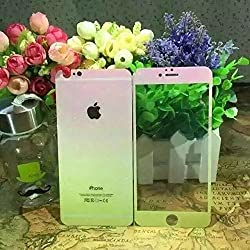 iPhone 6 Plus Gradient Rainbow Bling Glitter Screen Protection Film , TaoFilm Premium Tempered Glass Screen Protector for iPhone 6 Plus 5.5 (Wooden Box Packaging)(Front and Back)(Pink)