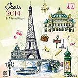 2014 Paris - Martine Rupert Calendar