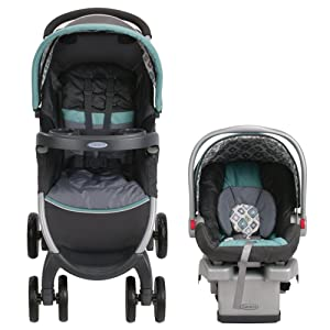 Graco Fastaction Fold Stroller Click Connect Travel System Review