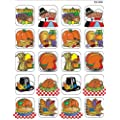 Teacher Created Resources Thanksgiving Stickers 120 stickers per pack Multi Color (1998)
