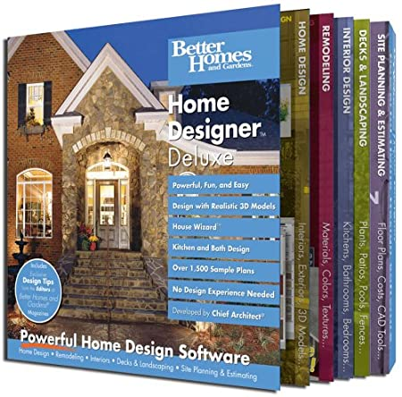 Better Homes and Gardens Home Designer Deluxe [Old Version]