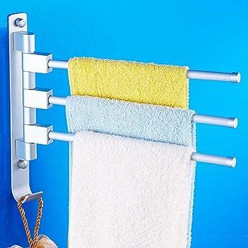 Tovagliolo di alluminio dello spazio appendente / rotazione della cremagliera del tovagliolo / asciugamano della stanza da bagno