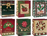 Medium Assorted Christmas Gift Bags