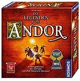Toy - KOSMOS 691745 - Die Legenden von Andor, Kennerspiel des Jahres 2013