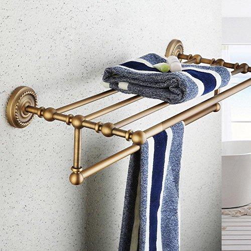 GS~LY Continentale antico rame asciugamano bagno accessori per rack